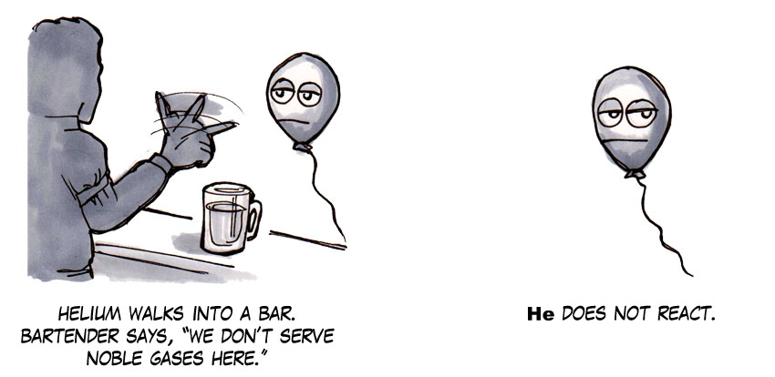 Helium Walks Into A Bar