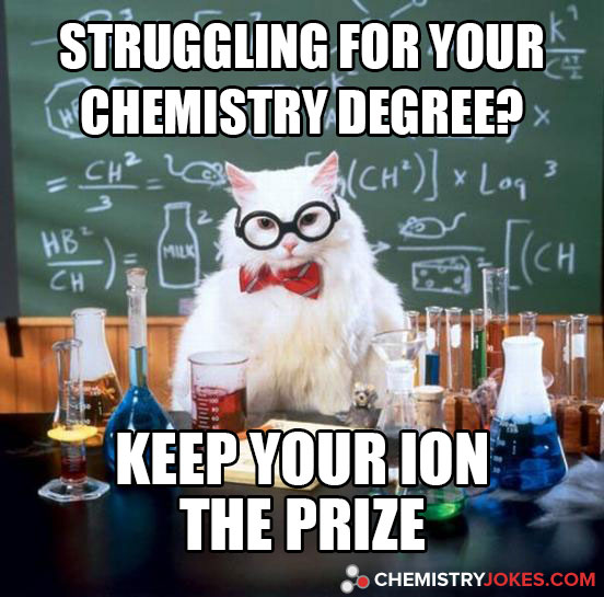 Struggling For Your Chemistry Degree?