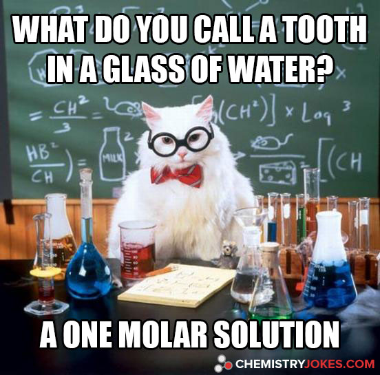 What Do You Call A Tooth In A Glass Of Water?